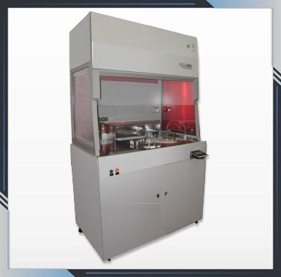 Установка формирования фоторезистивных масок на шаблонные заготовки УНФ-153